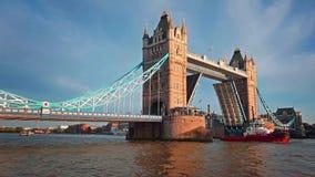 Torre Bridge1 almacen de metraje de vídeo