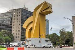 Torre Caballito -墨西哥城 免版税图库摄影