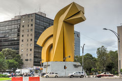 Torre Caballito - Mexico City royalty free stock photography