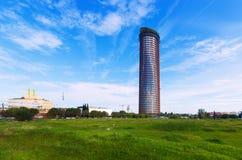 Torre Cajasol στη Σεβίλη Στοκ εικόνες με δικαίωμα ελεύθερης χρήσης