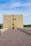 Torre Calahorra and roman bridge, Cordoba Royalty Free Stock Photography