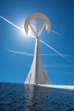 Torre Calatrava - Barcelona Royalty-vrije Stock Afbeelding