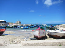 Torre canne harbour Royalty Free Stock Image