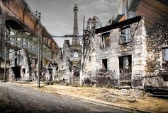 torre Cargo-apocalíptico de Effel foto de stock royalty free