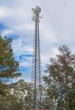 Torre cellulare Fotografie Stock Libere da Diritti