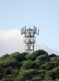 Torre cellulare Immagini Stock