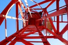 Torre celular Imagen de archivo libre de regalías