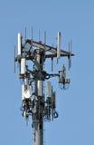 Torre celular Imágenes de archivo libres de regalías