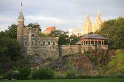 Torre Central Park New York City del belvedere Imágenes de archivo libres de regalías