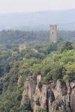 Torre Chia, Lazio, Italia fotografia stock libera da diritti