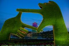 Torre china Foto de archivo libre de regalías