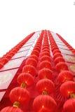 Torre china de la linterna de la lámpara Imagen de archivo libre de regalías