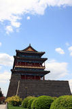 Torre chinesa da porta Fotografia de Stock