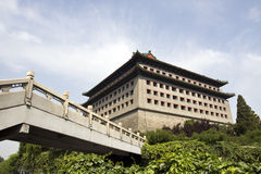 Torre chinesa da porta Imagens de Stock