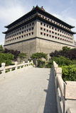Torre chinesa da porta Foto de Stock Royalty Free