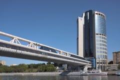 Torre 2000, cidade de Moscou Imagens de Stock