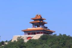 Torre cinese di stile tradizionale Fotografia Stock