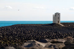 Torre clara de costa sul Imagem de Stock Royalty Free
