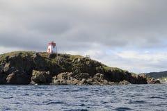 Torre clara no litoral fotografia de stock royalty free