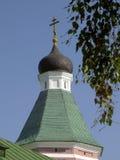 A torre com a cruz Imagens de Stock Royalty Free