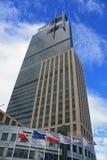 Torre comercial de Varsovia foto de archivo