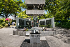 Torre commemorativa agli studenti mobilitati Fotografia Stock Libera da Diritti