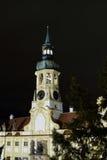 Torre con los relojes de Loreta Fotografía de archivo