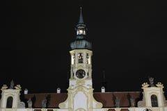 Torre con los relojes de Loreta Imágenes de archivo libres de regalías