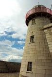 Torre concreta del faro Fotos de archivo