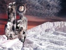 Torre congelata Fotografia Stock Libera da Diritti