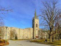 Torre conmemorativa de la universidad de Middlesex en Londres, Ontario, Canadá fotografía de archivo libre de regalías