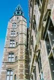 Torre Copenaghen Dinamarca do castelo de Rosemborg fotos de stock