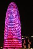 Torre cor-de-rosa de Agbar Imagens de Stock Royalty Free