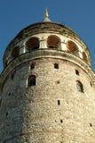 Torre/Costantinopoli di Galata Fotografia Stock