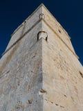 Torre costera del reloj que muestra los peldaños Fotos de archivo
