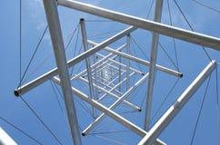 Torre d'acciaio Fotografia Stock