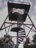 Torre d'acciaio dell'allerta a Paalgraven Oss Immagine Stock