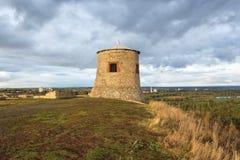 Torre d'annata dell'orologio Fotografia Stock