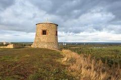 Torre d'annata dell'orologio Immagine Stock