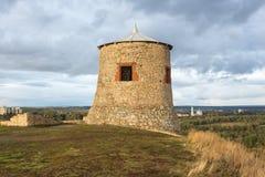 Torre d'annata dell'orologio Immagini Stock