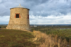 Torre d'annata dell'orologio Fotografie Stock