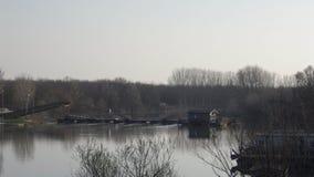 Torre d'Oglio桥梁 库存图片