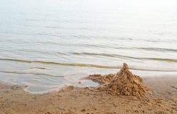Torre da areia Fotografia de Stock Royalty Free
