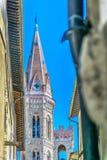Torre da arquitetura em Florença, Itália Imagem de Stock