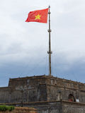 Torre da bandeira (berço Co) Hue Citadel Foto de Stock Royalty Free