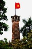 Torre da bandeira, Hanoi, Vietnam Fotos de Stock Royalty Free
