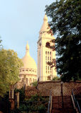 Torre da basílica em Paris Imagem de Stock