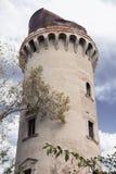 Torre da bomba de água em Korosten, Ucrânia fotografia de stock