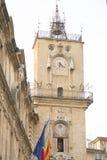 Torre da câmara municipal, Aix-en-Provence; França Imagem de Stock