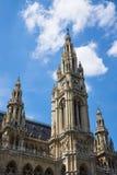 Torre da câmara municipal de Viena, Áustria Imagem de Stock Royalty Free